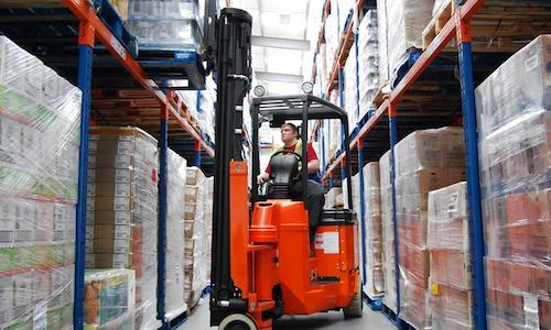 narrow aisle forklift in Hartford